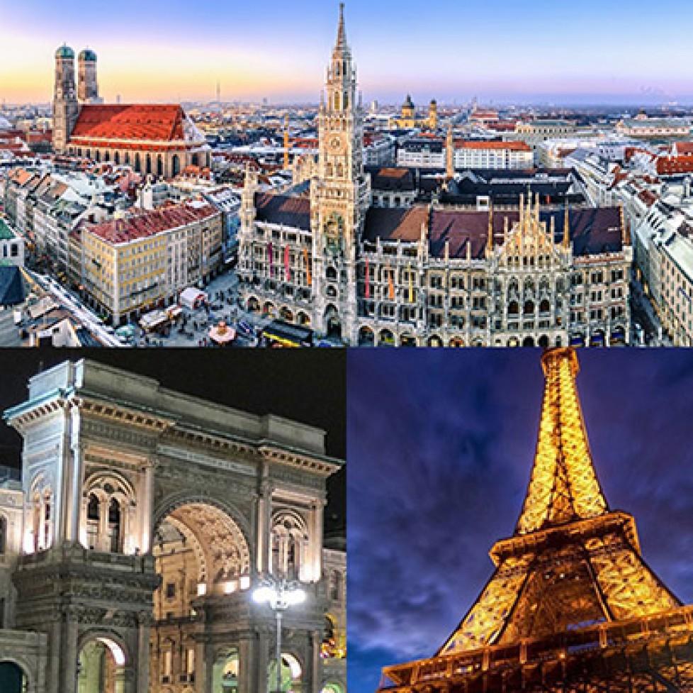 Munchen, Milan, Paris, Shanghai …. A/W 16/17